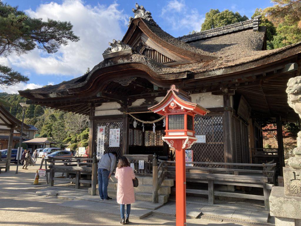 白髭神社 拝殿