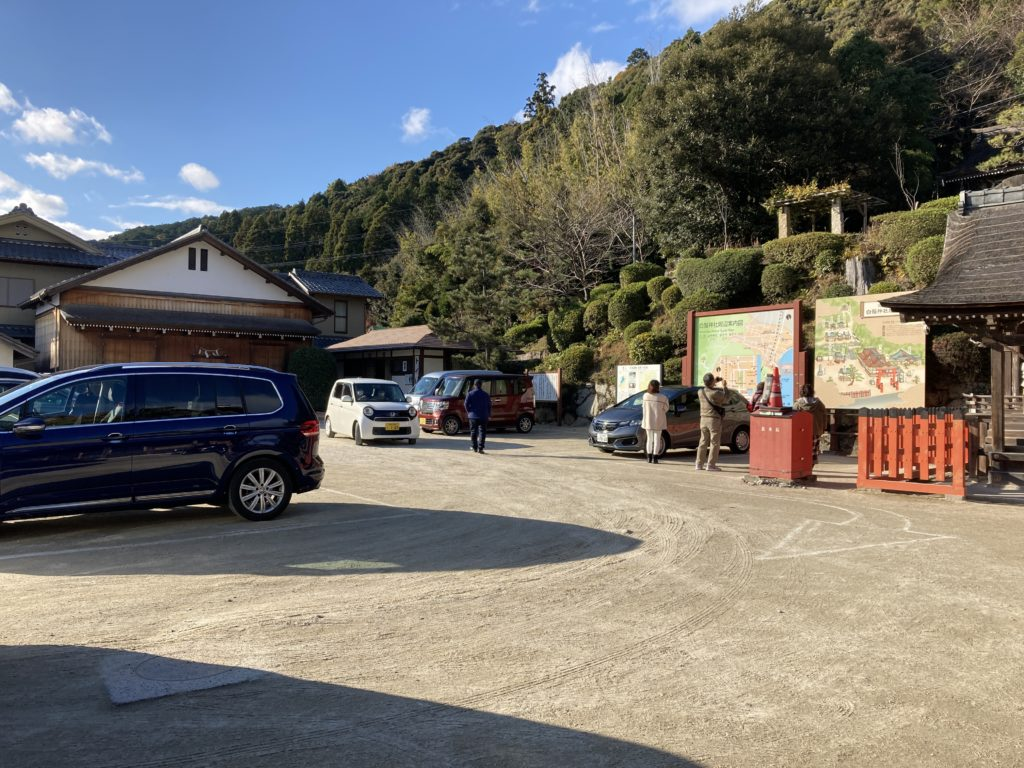 白髭神社駐車場